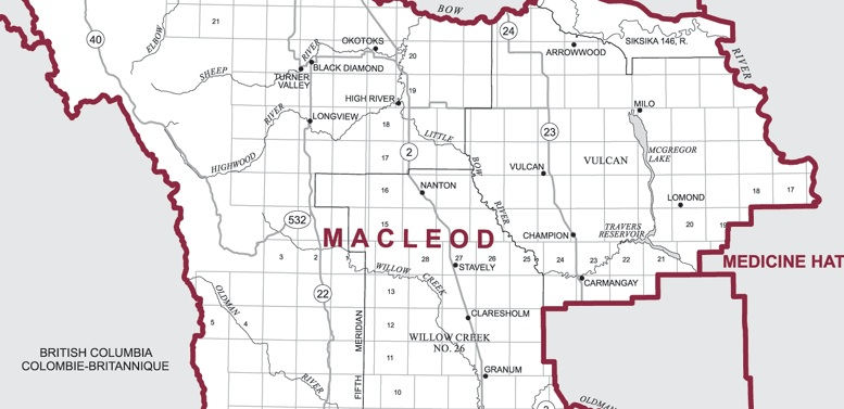 Macleod by-election map