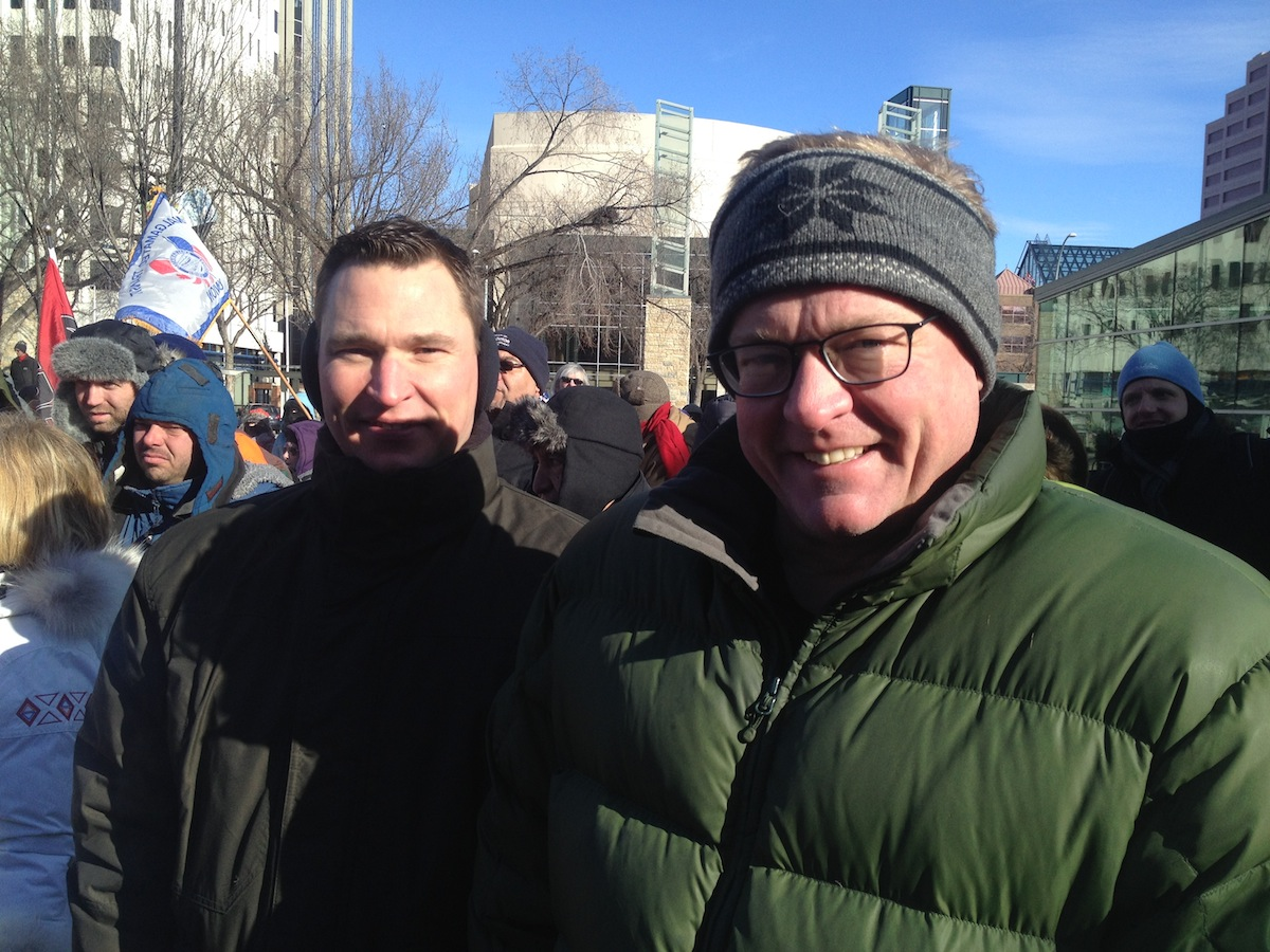 David Eggen Deron Bilous NDP MLA Alberta