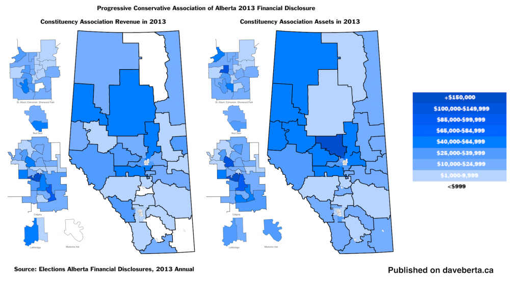 Alberta Progressive Conservative PC Party Fundraising Assets 2013