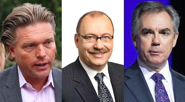 2014 PC Leadership Race Alberta Thomas Lukaszuk Jim Prentice Ric McIver