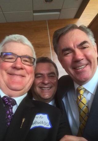 Jim Prentice David Dorward Moe Amery Selfie Alberta