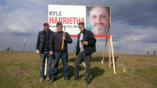 Kyle Harrietha Fort McMurray Athabasca By Election Liberal