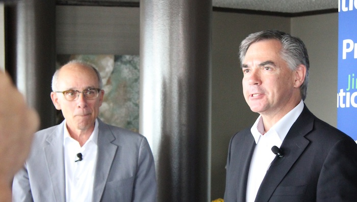 Jim Prentice Stephen Mandel Edmonton Alberta PC leadership