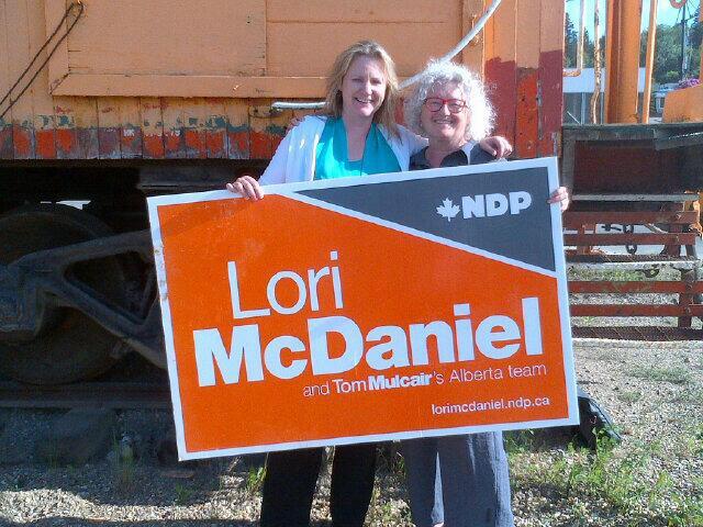 Lori McDaniel Linda Duncan NDP Fort McMurray Athabasca