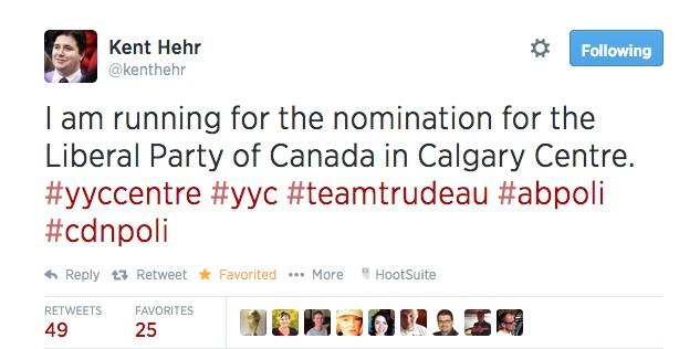 Kent Hehr Calgary Centre Liberal