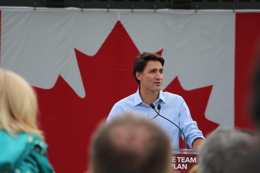 Justin Trudeau Liberal Edmonton