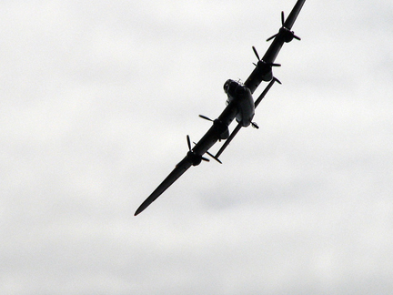 Lancaster Bomber. Photo © SNappa2006, via flickr Creative Commons