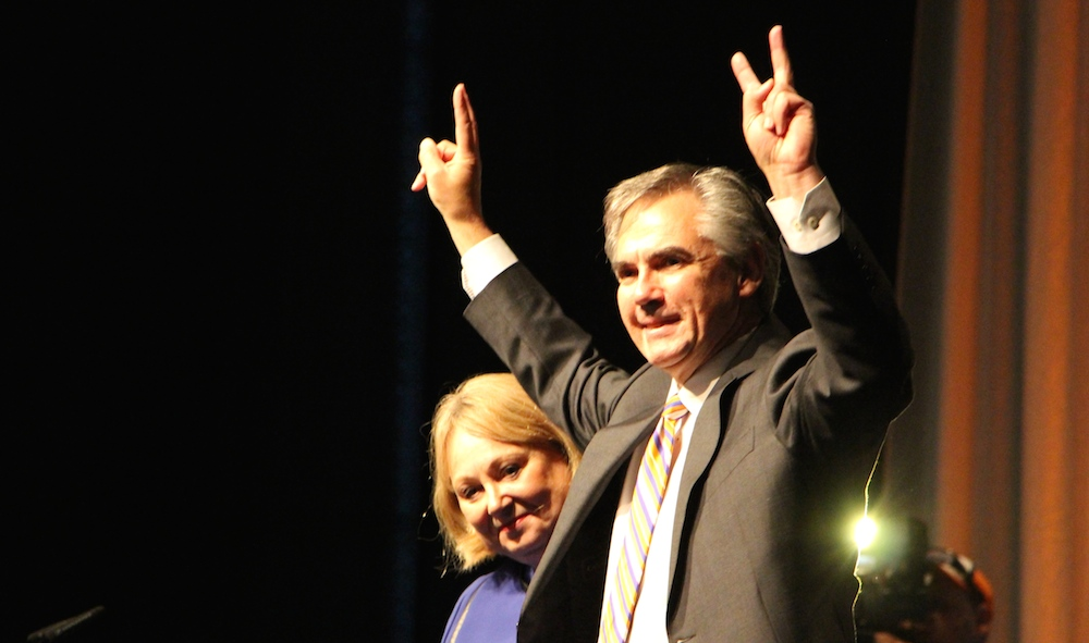Premier Jim Prentice Alberta PC leadership race