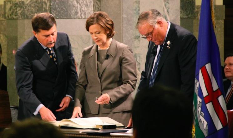 Alison Redford Premier Alberta