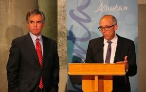 Jim Prentice Stephen Mandel Health Minister Alberta