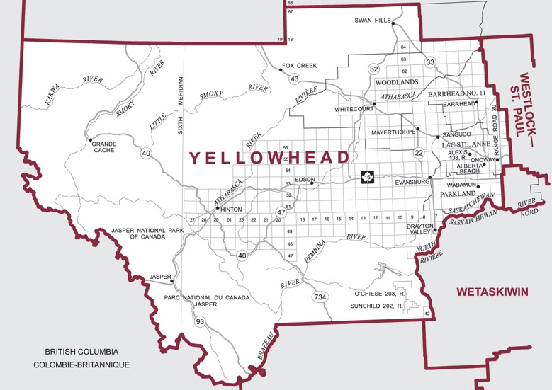 Yellowhead by-election Alberta Canada