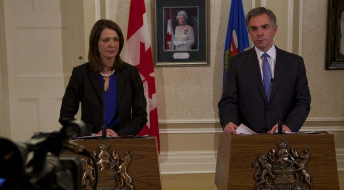 Jim Prentice Danielle Smith Wildrose Floor Crossing Merger