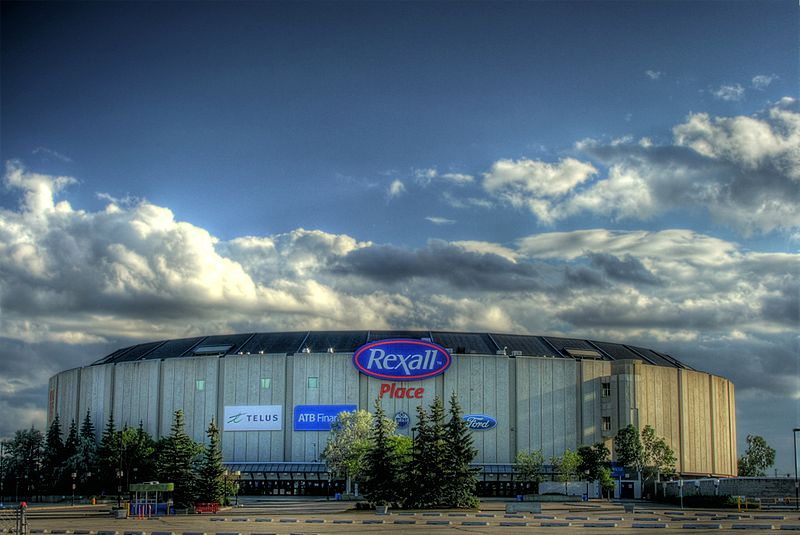 Northlands Rexall Place Edmonton Oilers Arena