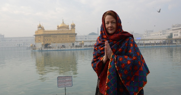Alison Redford Golden Temple India