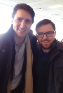 Dave Cournoyer Justin Trudeau