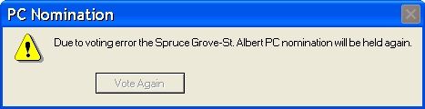 Alberta PC Nomination Spruce Grove St Albert