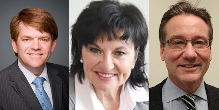 Wildrose Leadership Candidates Brian Jean, Linda Osinchuk and Drew Barnes.