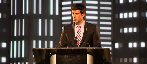 Edmonton Mayor Don Iveson presents the State of the City address.