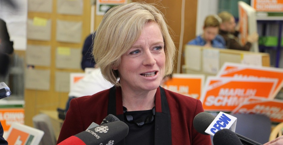 Alberta NDP leader Rachel Notley was a guest on the #abvote Google Hangout on April 9, 2015.