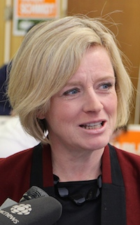 Rachel Notley Alberta NDP leader