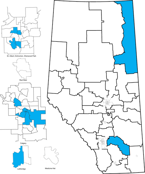 Alberta Election Races to Watch 2015