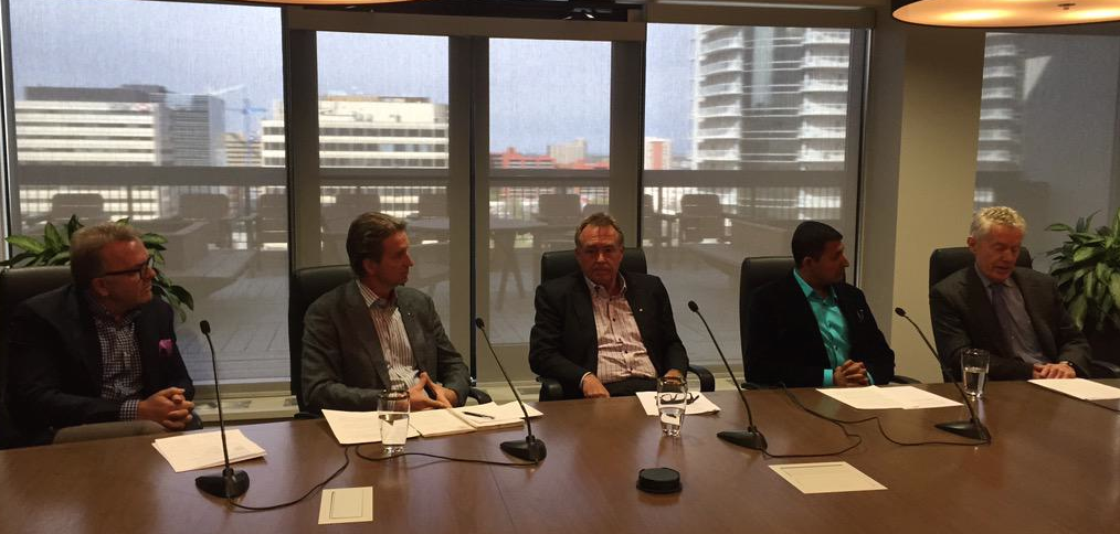 The infamous Penthouse Press Conference on May 1, 2015.