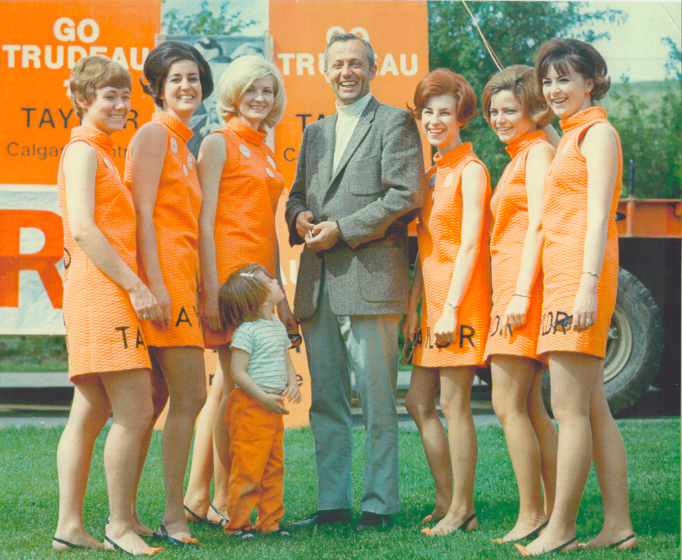 Nick Taylor Trudeaumania Dynamiters Calgary-Centre 1968 Election