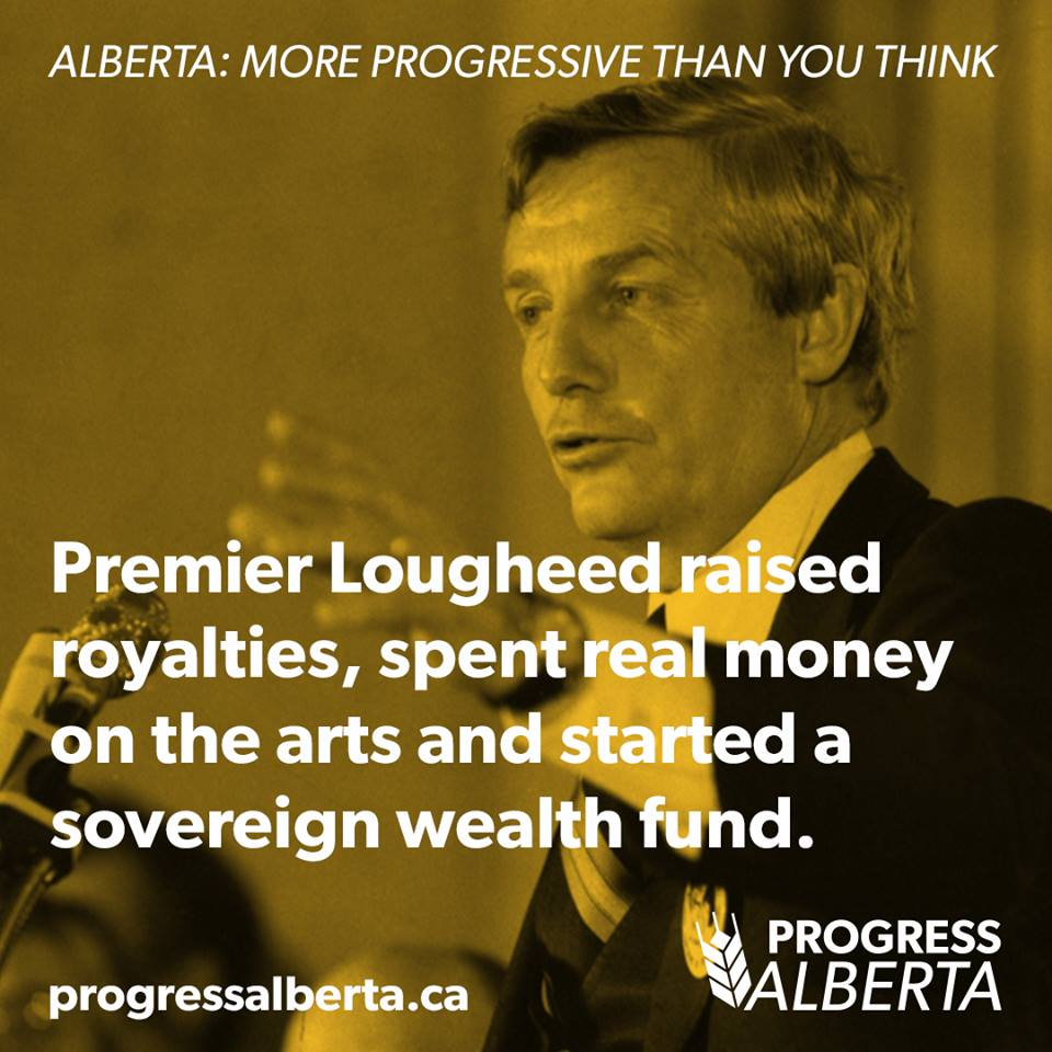 Peter Lougheed Alberta Conservative Premier