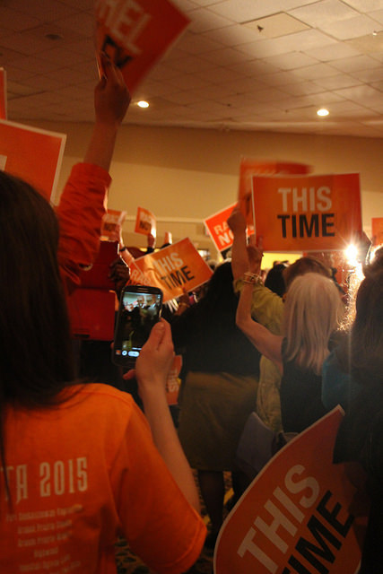 Alberta NDP Rally