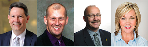 A few MLAs who could run for the PC Party leadership: Richard Starke, Mike Ellis, Ric Mciver and Sandra Jansen.