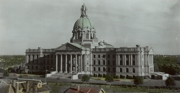 Alberta's Legislature Building (photo licensed by University of Alberta Libraries under the Attribution - Non-Commercial - Creative Commons license)