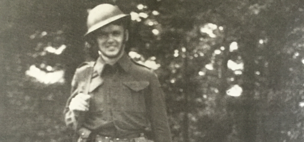 My grandfather, Laurence Anthony Bradley, served in the Canadian Army during the Second World War.
