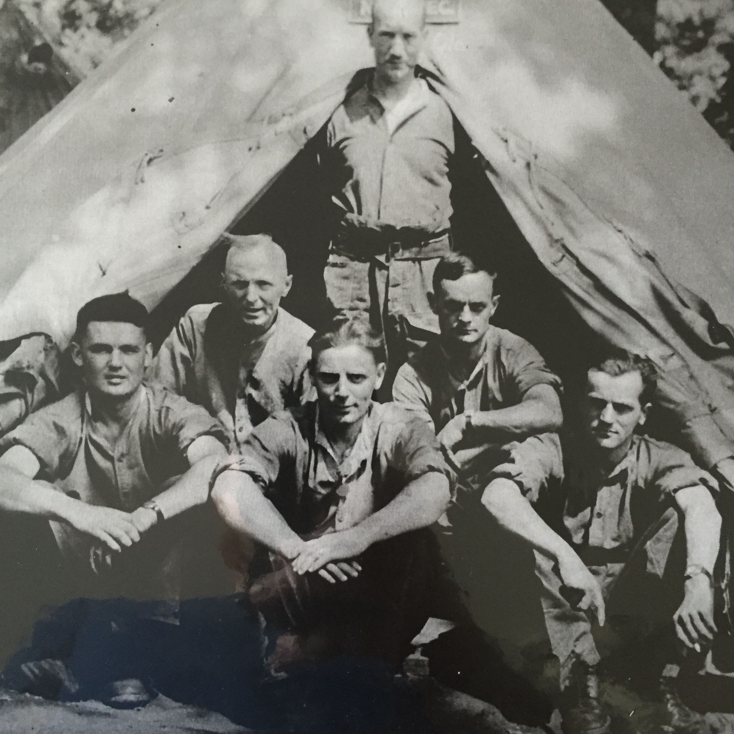 My grandfather Lawrence Bradley (sitting on the left).