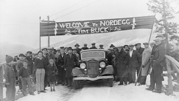 Rachel Notley might not receive the same warm welcome that awaited Communist leader Tim Buck when he visited the coal town of Nordegg, Alberta in April 1935, but that shouldn't stop her from visiting the communities impacted by the government's coal phase-out plans.