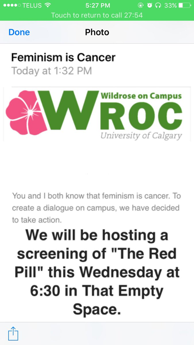 Wildrose Feminism is Cancer