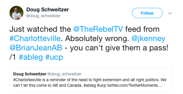 Doug Schweitzer United Conservative Party