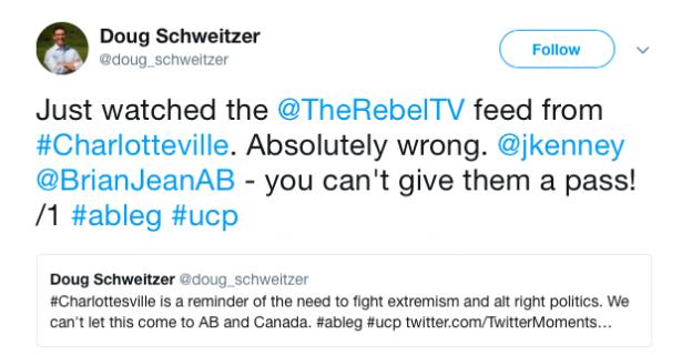 Doug Schweitzer United Conservative Party
