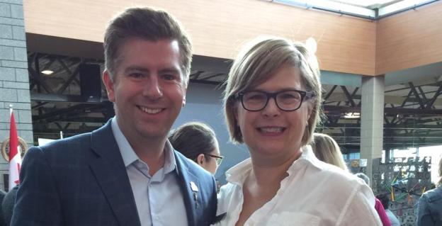 Karen McPherson Jamie Kleinsteuber Calgary NDP MLA
