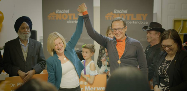 Rachel Notley Phillip van der Marwe Calgary Lougheed by-election