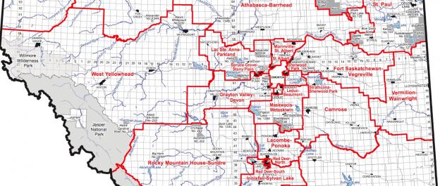 Alberta Electoral Map 2019