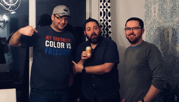 Daveberta Podcast - Ryan Hastman Adam Rozenhart Dave Cournoyer