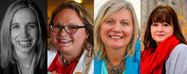 Alberta Nomination candidates: Nicole Williams (UCP-Edmonton-West Henday), Sarah Hoffman (NDP- Edmonton Glenora), Maryann Chichak (UCP-West Yellowhead), and Lisa Wardley (UCP-Peace River).