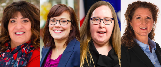 Shelly Shannon Kathleen Ganley Christina Gray Beth Barberree Alberta Election Nomination candiates