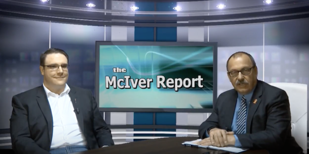 UCP MLAs Jason Nixon (L) and Ric McIver (R) on The McIver Report.