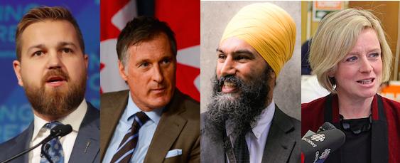 Derek Fildebrandt Maxime Bernier Jagmeet Sighn Rachel Notley Daveberta Podcast Alberta Politics