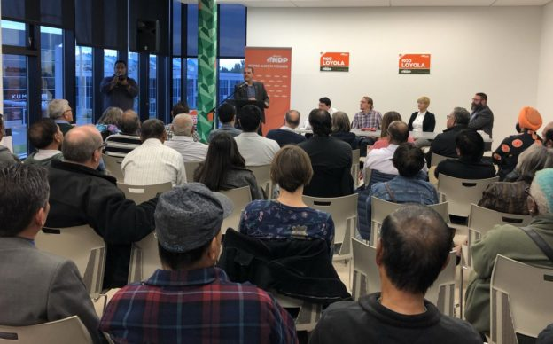 Rod Loyola nominated as the NDP candidate in Edmonton-Ellerslie.