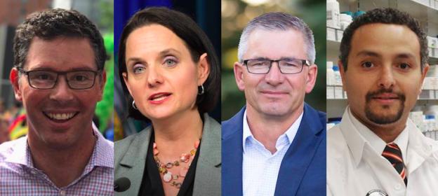 Doug Schweitzer Danielle Larivee Travis Toews Mo Elsalhy Alberta Election 2019