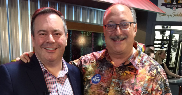 Jason Kenney and RIchard Gotfried