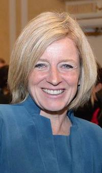 Rachel Notley Alberta Premier NDP