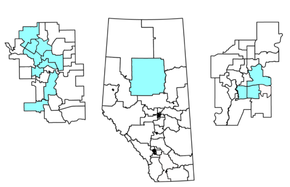Alberta Party nominated women candidates (as of November 9, 2018)